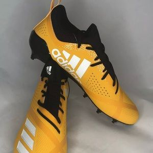 Adidas Adizero Yellow Football Cleats Shoes